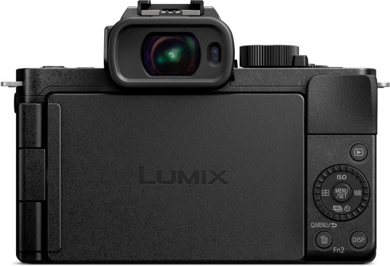 Die neue Vlogger Kamera von Panasonic Lumix G110 herausragendes schlankes Design