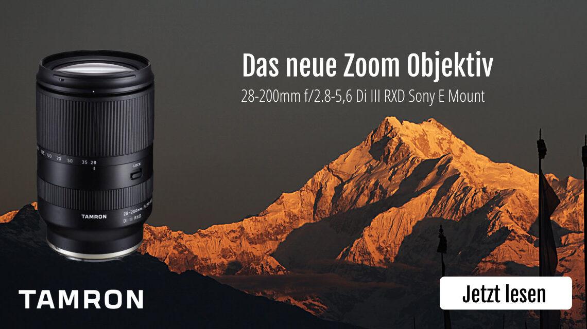 Das neue Tamron Zoom Objektiv