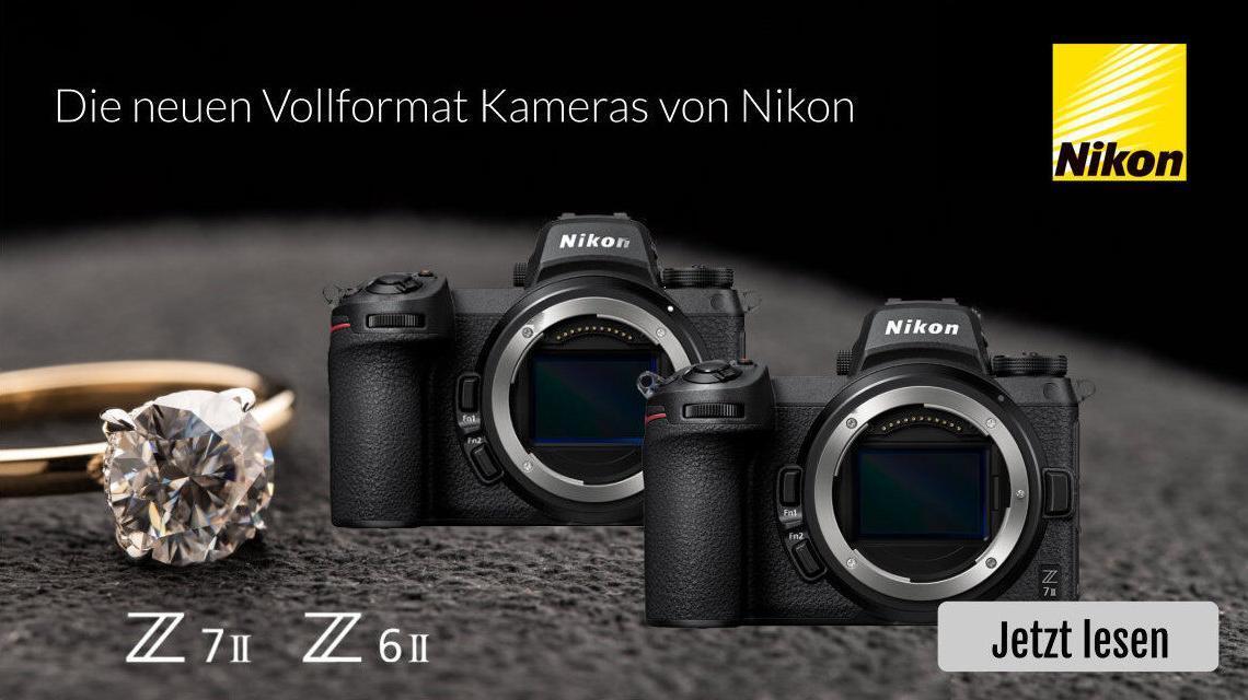 Die neue Nikon Z6II und nIkon Z7II