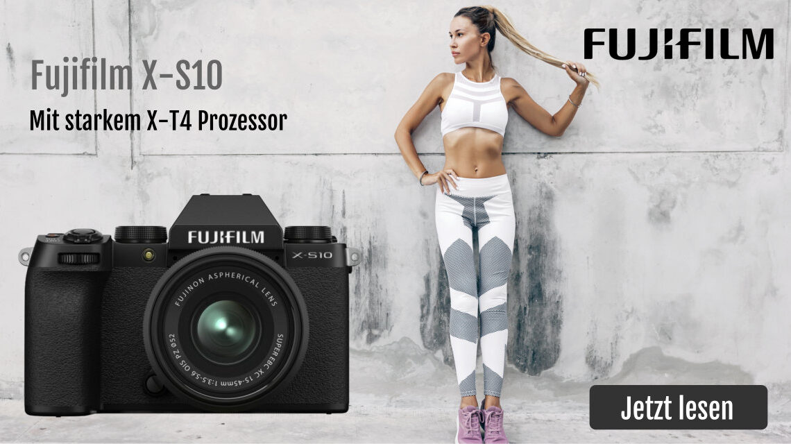 Die neue Fuji X-S10