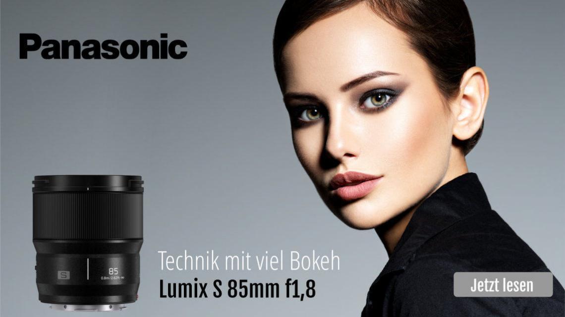 Panasonic 85 mm 1,8 Objektiv