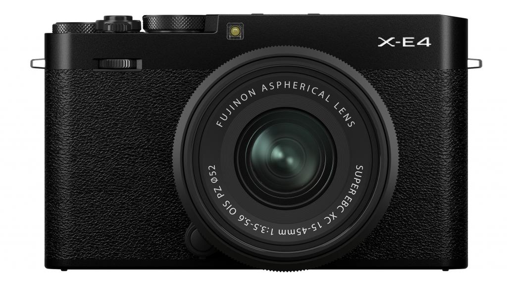 Fujifilm X-E4 APS-C Kamera Schwarz