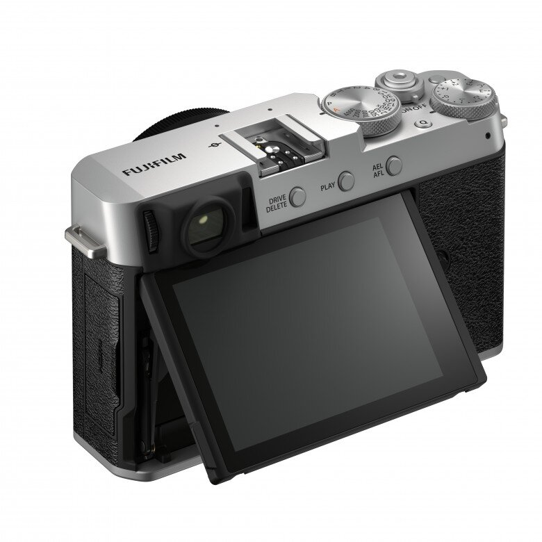 Fujifilm X-E4 Ansicht hinten