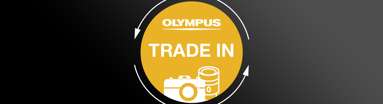 Olympus Trade In Aktion