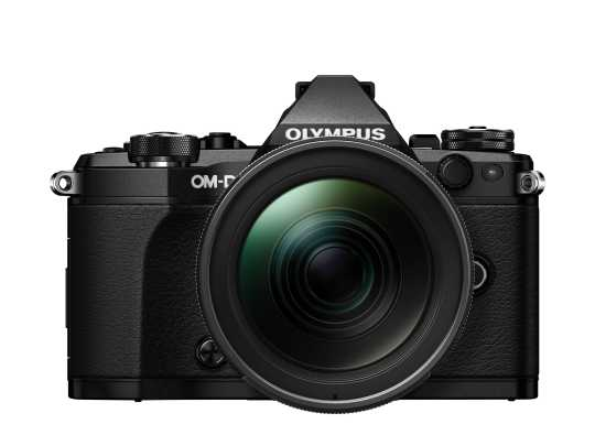 Olympus OM-D E-M5 Mark II Kit 12-40mm schwarz
