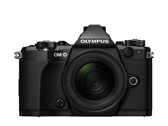 Olympus OM-D E-M5 Mark II Kit 12-50mm schwarz