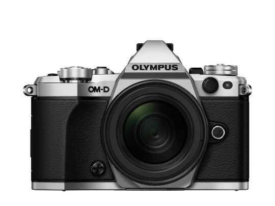 Olympus OM-D E-M5 Mark II Kit 12-50mm silber
