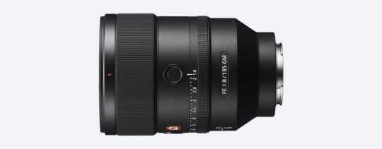Sony SEL 135mm f/1.8 G-Master - FE-Mount