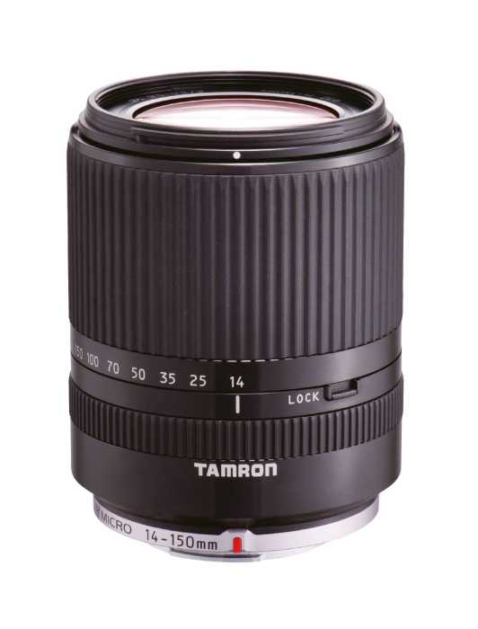 Tamron 14-150mm f/3.5-5.8 Di III Micro Four Thirds schwarz