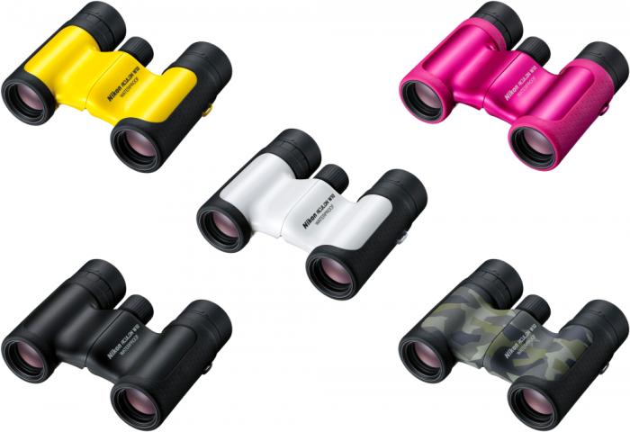 Nikon fernglas aculon w10 8x21 pink foto bantle
