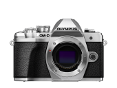 Olympus OM-D E-M10 Mark III Double Zoom Kit silber