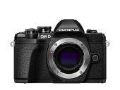 Olympus OM-D E-M10 Mark III Pancake Double Zoom Kit schwarz