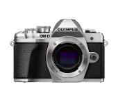 Olympus OM-D E-M10 Mark III Pancake Double Zoom Kit silber